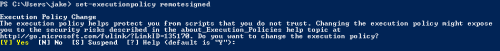 allow powershell scripts to run