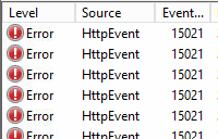 Cannot connect to exchange server or OWA with Http Event 15021