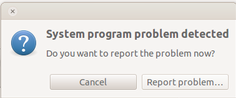 """System program problem detected"" pops up after upgrading Ubuntu"