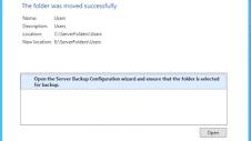 move folder in server essentials