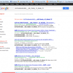 Result from google