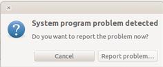 system problem program