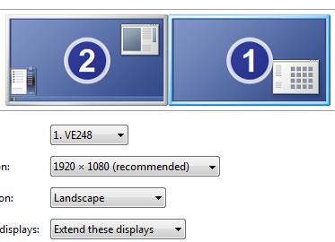 Dual Monitors Not Lining Up Correctly