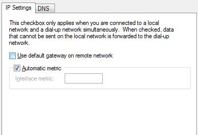 advanced vpn settings windows 10