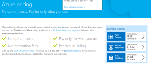 How to work out Azure Pricing